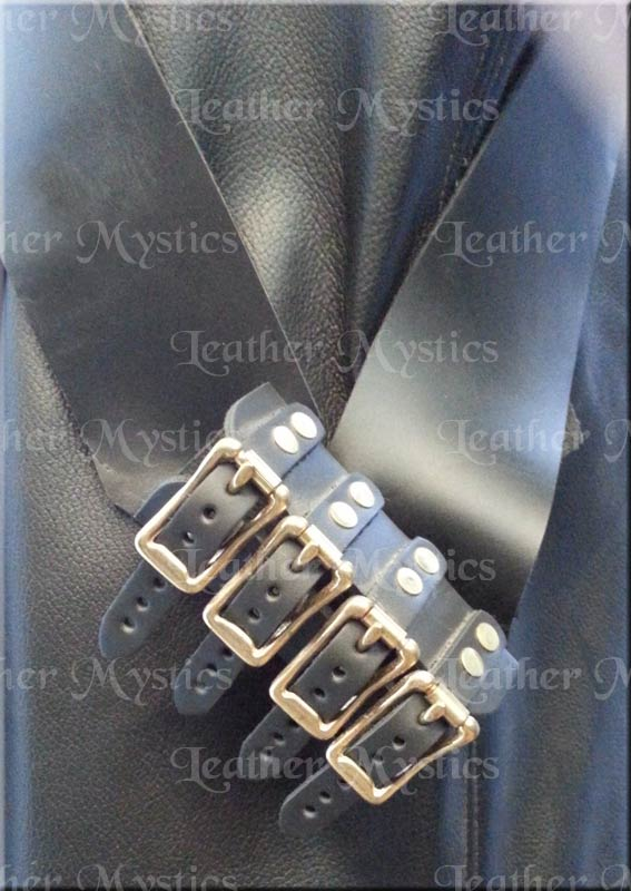 made in usa leather sword belt pirate