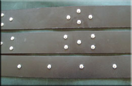 dome studs for renaissance ring belts
