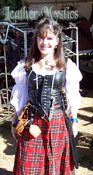 black leather wenches bodice