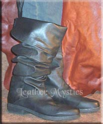 renaissance leather boots