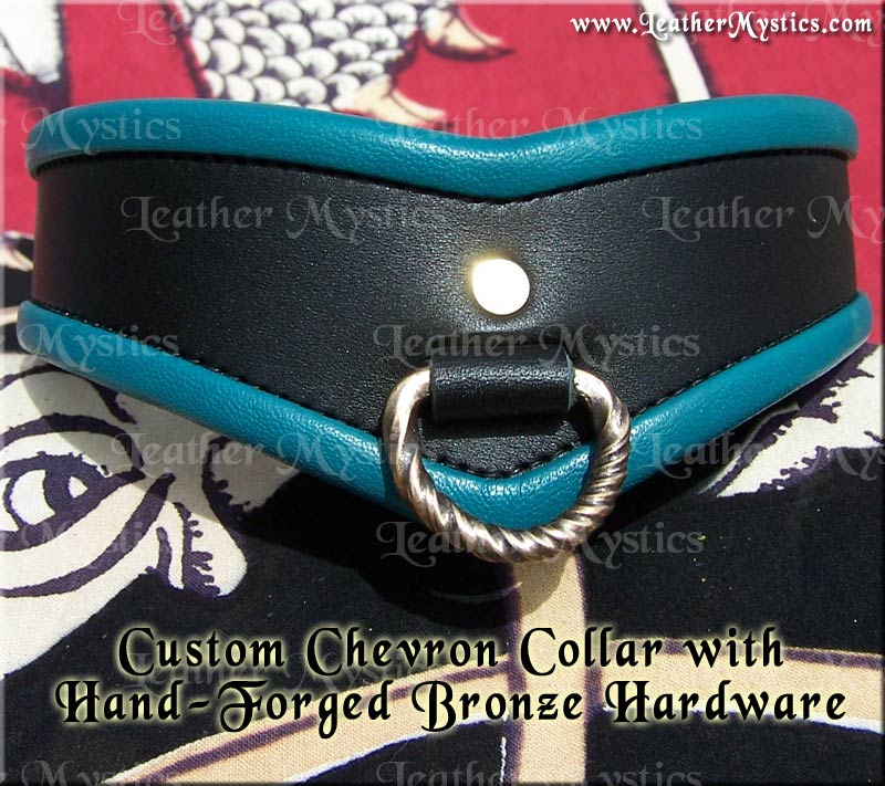 hand made in usa custom slave collar pet boy girl bdsm