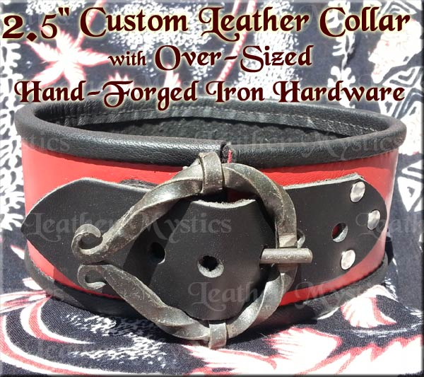 custom leather dominatrix dom sub pet slave collar