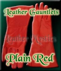 imperial guard red gloves gauntlets costume