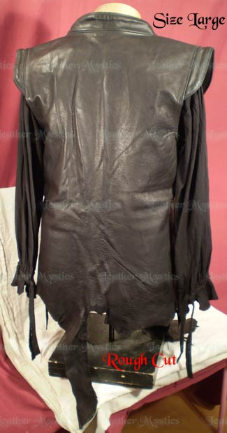 renaissance leather jerkin vest