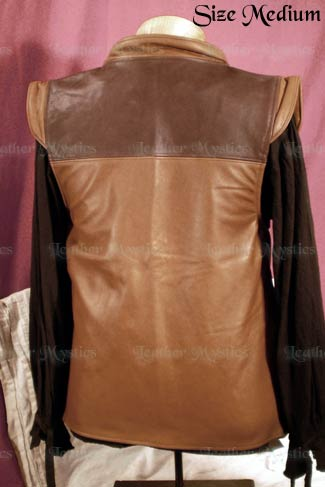 pirate costume leather